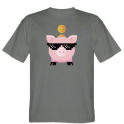 Чоловіча футболка Piggy bank