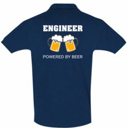 Футболка Поло Engineer Powered By Beer