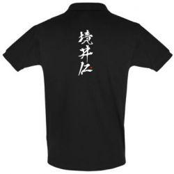 Футболка Поло Ghost Of Tsushima Hieroglyphs