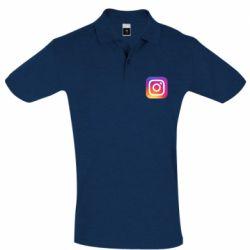 Футболка Поло Instagram Logo Gradient