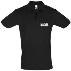 Мужская футболка поло Marvel logo and vine