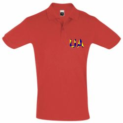 Мужская футболка поло UA Ukraine