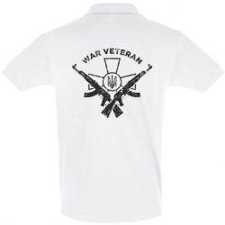 Футболка Поло Veteran machine gun