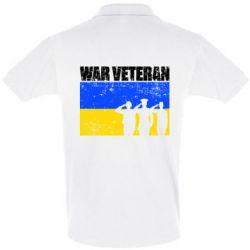 Футболка Поло War veteran