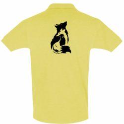 Мужская футболка поло Wolf And Fox