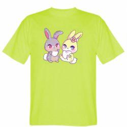 Чоловіча футболка Rabbits In Love