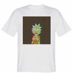 Мужская футболка Rick Fck Hologram