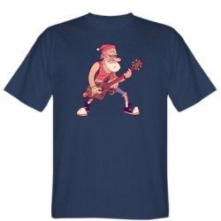 Чоловіча футболка Rock'n'roll Santa