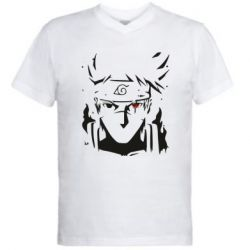 Чоловіча футболка з V-подібним вирізом Art Kakashi
