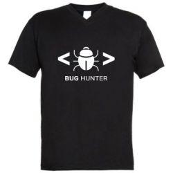 Чоловіча футболка з V-подібним вирізом Bug Hunter