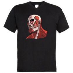 Чоловіча футболка з V-подібним вирізом Colossus