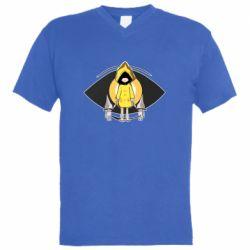 Чоловіча футболка з V-подібним вирізом Little Nightmares-2