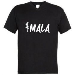 Чоловіча футболка з V-подібним вирізом MALA