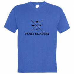 Чоловіча футболка з V-подібним вирізом Peaky Blinders I