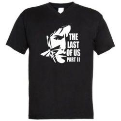 Чоловіча футболка з V-подібним вирізом Последний из нас