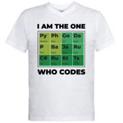 Чоловіча футболка з V-подібним вирізом Сode  IT