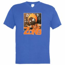 Чоловіча футболка з V-подібним вирізом Standoff Zone 9