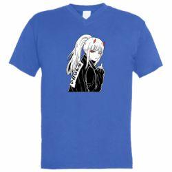 Чоловіча футболка з V-подібним вирізом Zero Two Art
