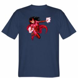 Чоловіча футболка Scarlet Witch comic art
