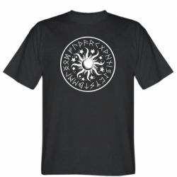 Чоловіча футболка Sun in runes