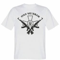 Чоловіча футболка Veteran machine gun