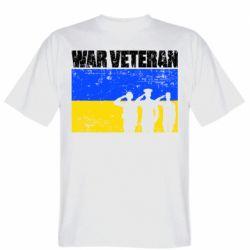 Чоловіча футболка War veteran