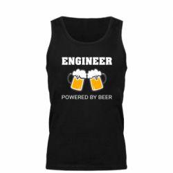Майка чоловіча Engineer Powered By Beer