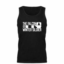 Майка чоловіча Falcon and winter soldier logo