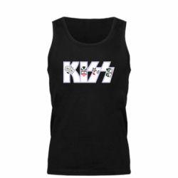 Майка чоловіча Kiss the music band