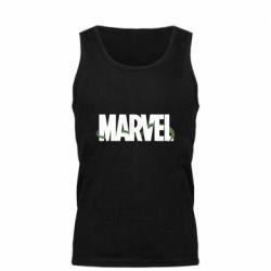 Мужская майка Marvel logo and vine