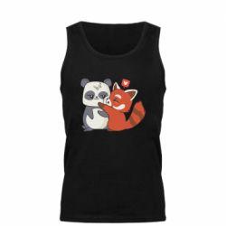 Майка чоловіча Panda and fire panda