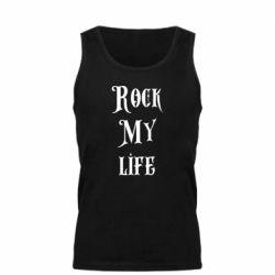 Мужская майка Rock my life