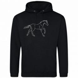 Чоловіча промо толстовка Beautiful horse