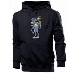 Чоловіча промо толстовка Bender and the heads of robots