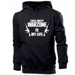 Чоловіча промо толстовка Call of duty warzone is my life M4A1