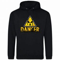 Чоловіча промо толстовка Danger icon
