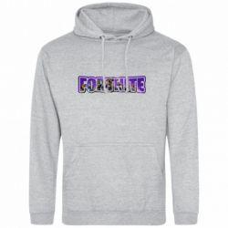 Чоловіча промо толстовка Fortnite logo and image