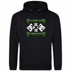 Чоловіча промо толстовка Monster Energy DC Logo