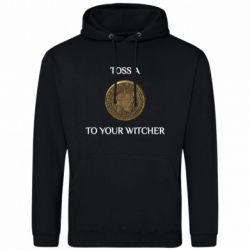 Чоловіча промо толстовка Toss a coin to your witcher ( орен )