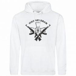 Чоловіча промо толстовка Veteran machine gun