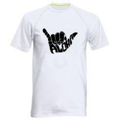 Мужская спортивная футболка Aloha Hawai