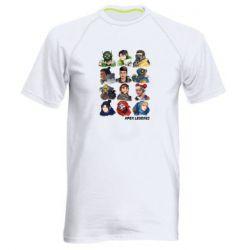 Чоловіча спортивна футболка Apex legends heroes