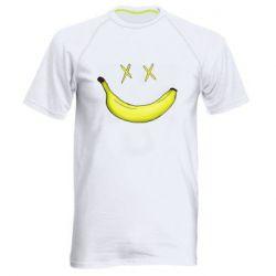 Мужская спортивная футболка Banana smile