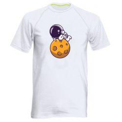 Чоловіча спортивна футболка Chilling on the Moon