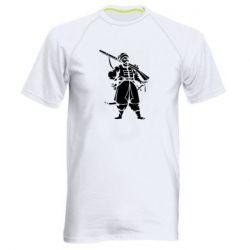 Мужская спортивная футболка Cossack with a gun