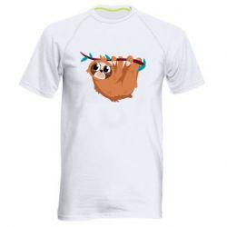 Чоловіча спортивна футболка Cute sloth