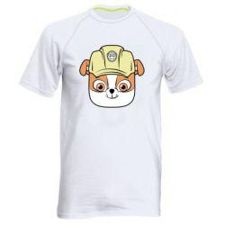 Чоловіча спортивна футболка Dog in helmet