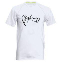 Чоловіча спортивна футболка Fishing and fishing rod