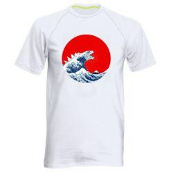 Чоловіча спортивна футболка Godzilla Wave