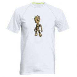 Мужская спортивная футболка Groot teen